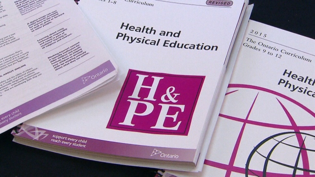 Ontario government releases new sex-ed curriculum – CTV News