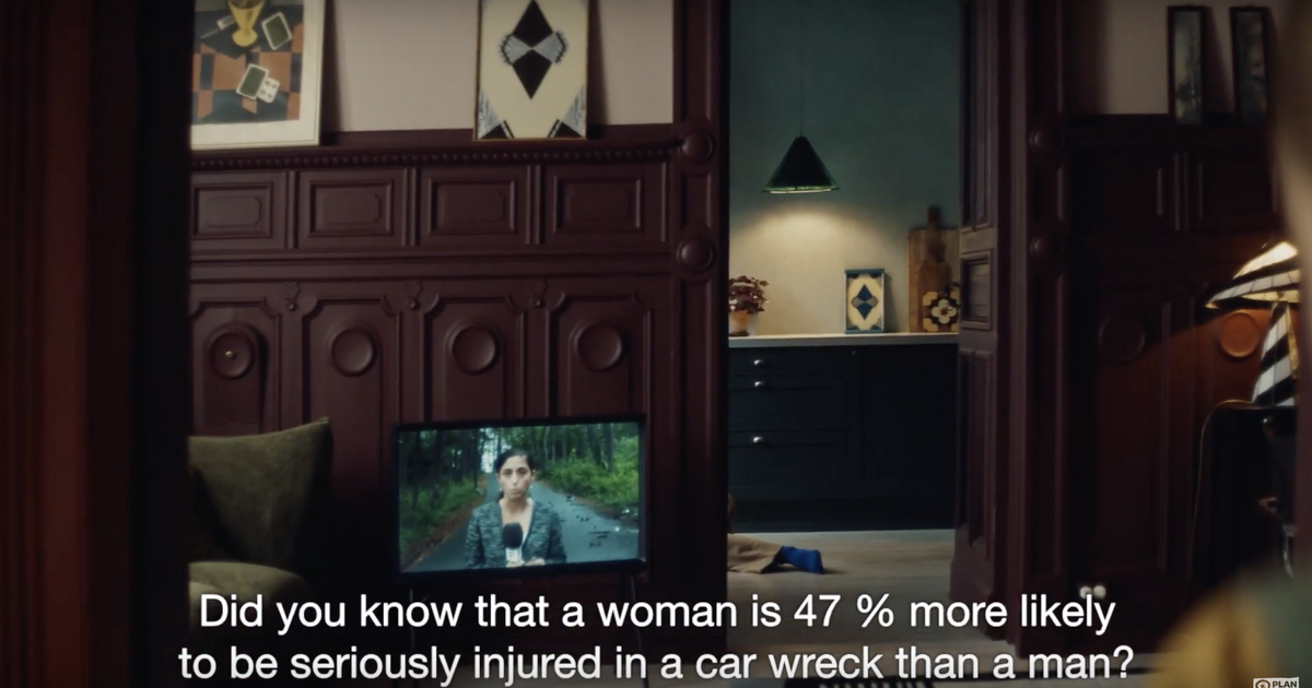 Powerful video shows the life-threatening impacts of living in a world designed for men
