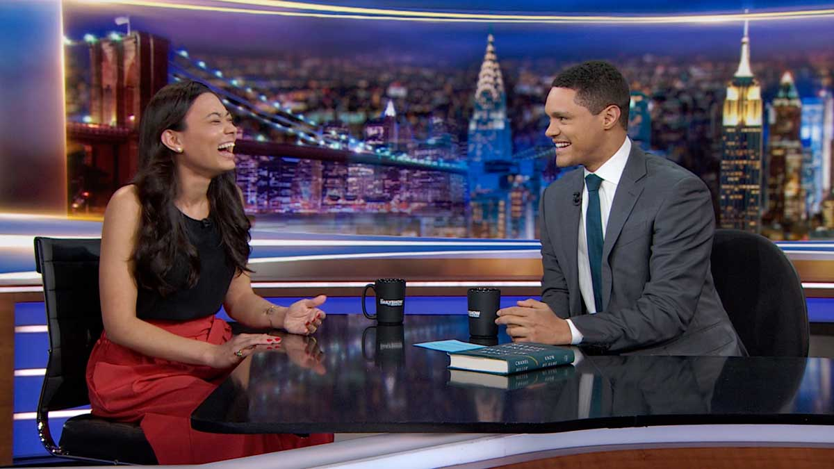 Chanel Miller interviewed on The Daily Show