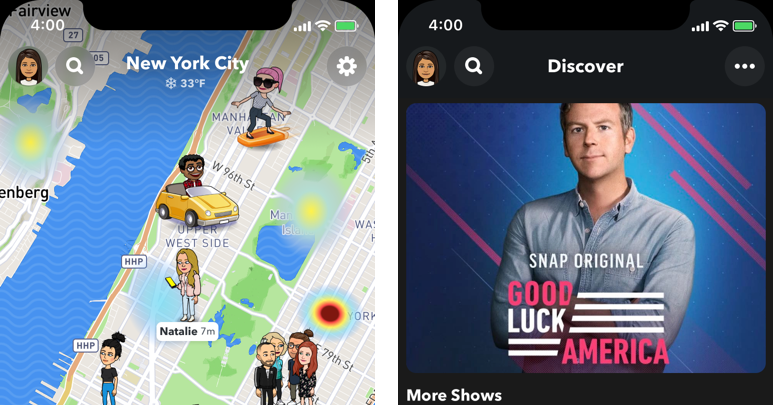 Snap is testing a big new redesign