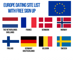 Europe Dating Site List With Free Sign Up